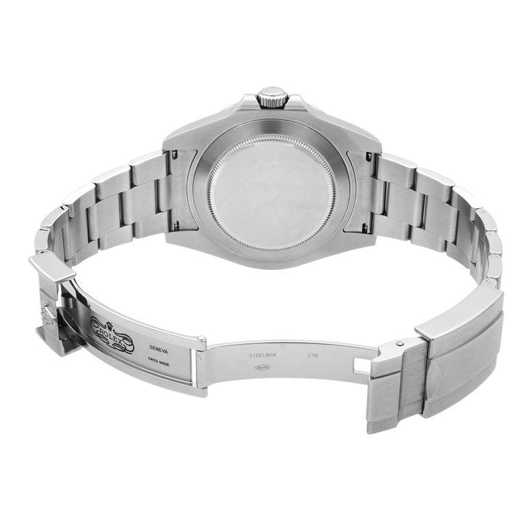 Rolex Explorer II Steel Orange Hand Black Dial Automatic Men's Watch 216570 For Sale 3