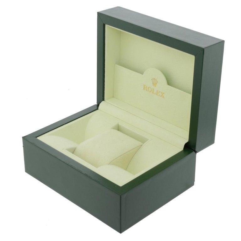 Rolex Explorer II Steel Orange Hand Black Dial Automatic Men's Watch 216570 For Sale 4
