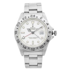 Rolex Explorer II White Dial Red Hand Automatic Men's Watch 16570