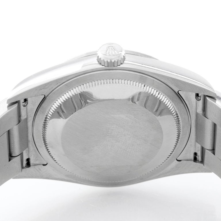 Rolex Explorer Men's Stainless Steel Watch 114270 In Excellent Condition For Sale In Dallas, TX
