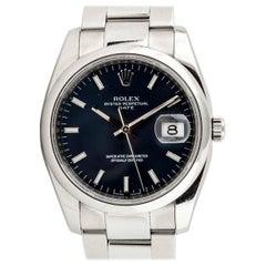 Rolex Gentleman's Oyster Perpetual Date Bracelet Watch Ref. 115200