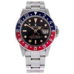 Rolex Gentleman's Oyster Perpetual GMT-Master Bracelet Watch Ref 1675 circa 1966