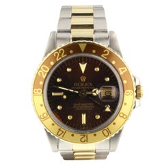 Rolex GMT Master 1675, Brown Dial, Certified and Warranty
