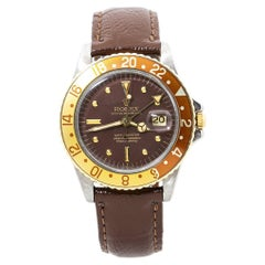 Rolex GMT-Master 1675 Matte Brown Nipple Dial Automatic Men's Watch