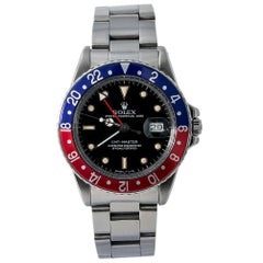 Rolex GMT Master 16750, Certified and Warranty