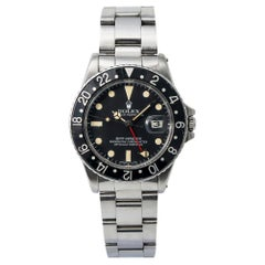 Rolex GMT Master 16750, White Dial, Certified and Warranty