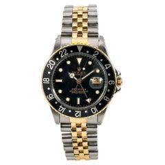 Rolex GMT Master 16753, Beige Dial, Certified and Warranty