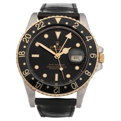Rolex GMT-Master 16753 Mens Yellow Gold & Stainless Steel Watch