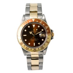 Rolex GMT Master 16753, Silver Dial, Certified and Warranty