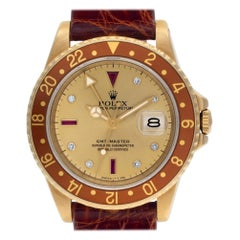 Rolex GMT Master 16758, Blue Dial, Certified and Warranty