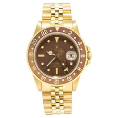 Rolex GMT Master 16758, Brown Dial, Certified and Warranty