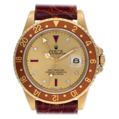 Rolex GMT Master 16758, Certified and Warranty