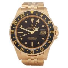 Rolex GMT-Master 18k Yellow Gold 16758