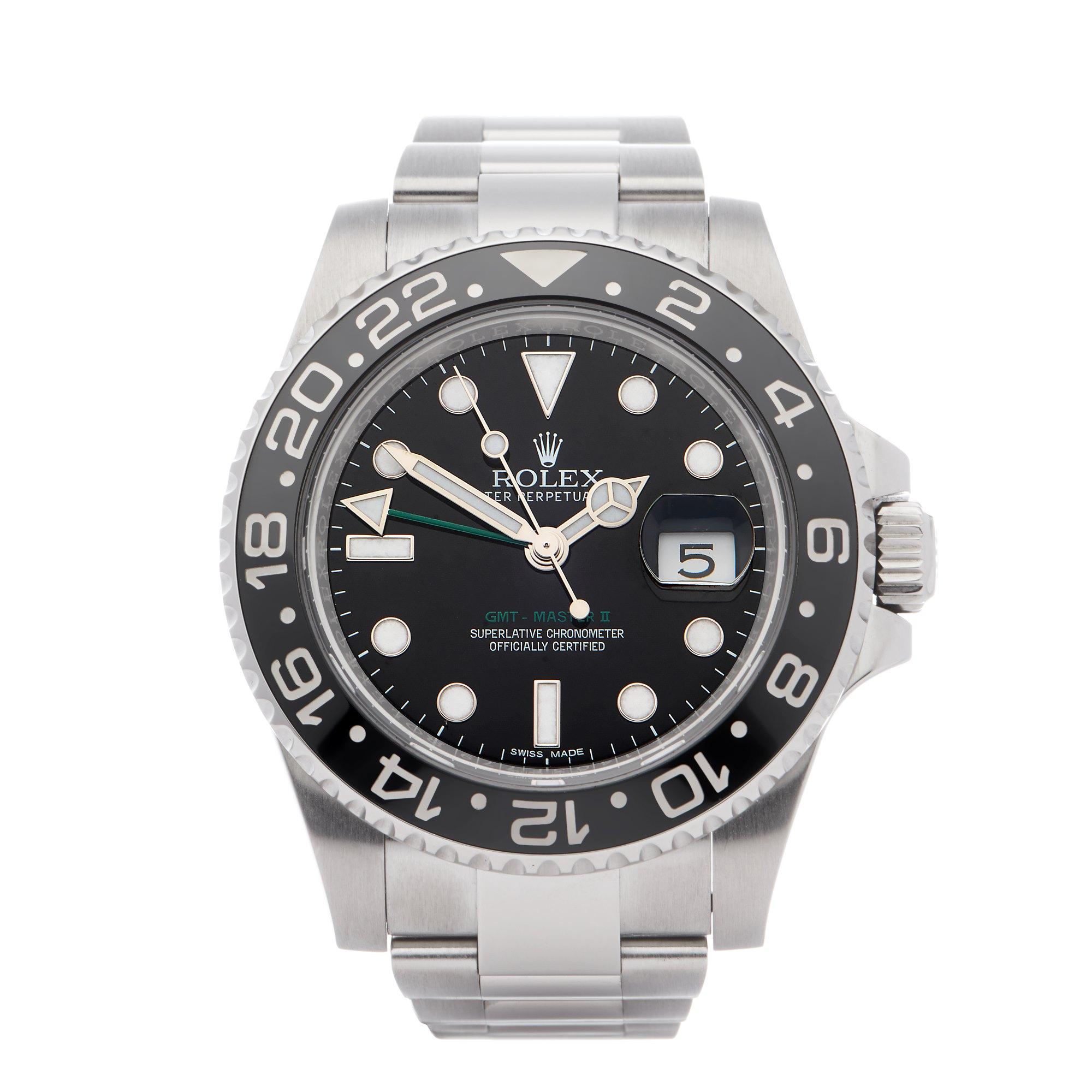 Rolex GMT-Master II 0 116710LN Men Stainless Steel 0 Watch