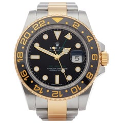Rolex GMT-Master II 0 116713LN Men's Stainless Steel and Yellow Gold 0 Watch