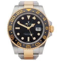 Rolex GMT-Master II 0 116713LN Men's Stainless Steel and Yellow Gold Watch