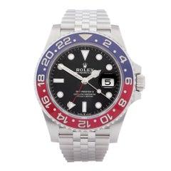 Rolex GMT-Master II 0 126710BLRO Men Stainless Steel 0 Watch