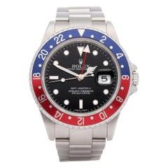 Rolex GMT-Master II 0 16710 Men Stainless Steel Stick Dial' Watch
