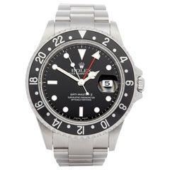 Rolex GMT-Master II 0 16710 Men's Stainless Steel Watch