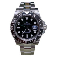 Rolex GMT Master II 116710 Black Ceramic Stainless Steel Box Papers, 2011