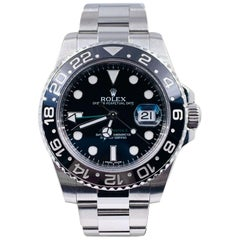 Rolex GMT Master II 116710 Black Ceramic Stainless Steel Box Papers 2012
