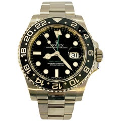 Rolex GMT Master II 116710 Black Dial Ceramic Bezel Stainless Steel Box