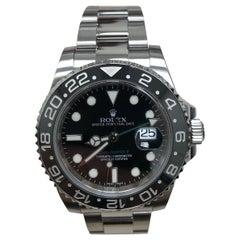 Rolex GMT Master II 116710 LN Black Ceramic Stainless Steel