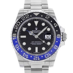 Rolex GMT-Master II 116710BL Batman Steel Ceramic Automatic Men's Watch