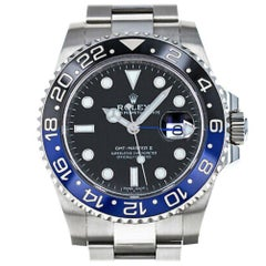 Rolex GMT Master II 116710BLNR, Case, Certified and Warranty
