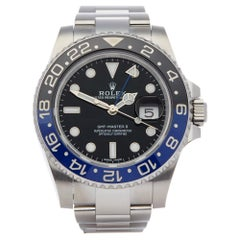 Rolex GMT-Master II 116710BLNR Men's Stainless Steel Watch