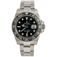 Rolex GMT Master II 116710LN Ceramic Men Watch Automatic Stainless Black
