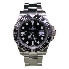 Rolex GMT Master II 116710LN, Certified and Warranty