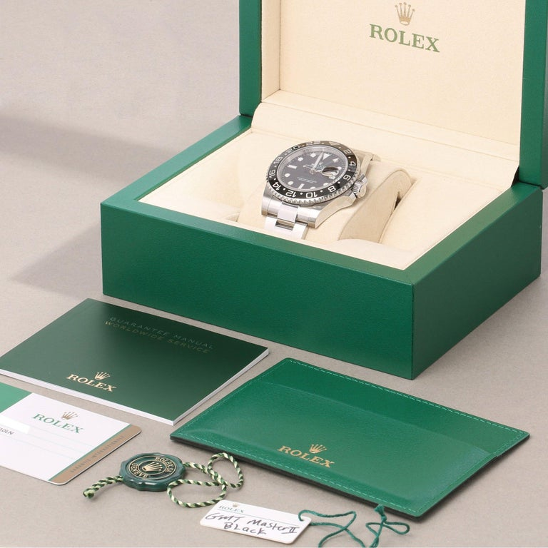 Rolex GMT-Master II 116710LN Men's Stainless Steel Watch For Sale 7