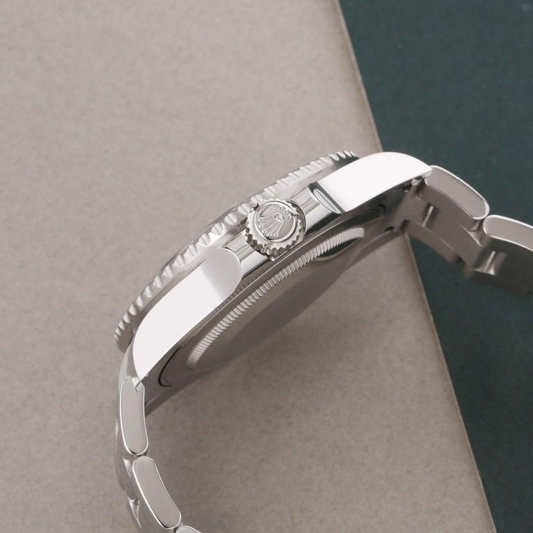 Rolex GMT-Master II 116710LN Men's Stainless Steel Watch In Excellent Condition For Sale In Bishops Stortford, Hertfordshire