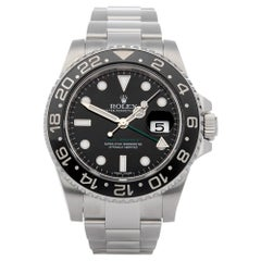 Rolex GMT-Master II 116710LN Men's Stainless Steel Watch