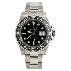 Rolex GMT Master II 116710LN, Silver Dial, Certified and Warranty