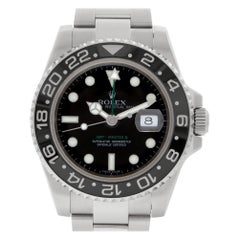 Rolex GMT-Master II 116710LN Stainless Steel Black Dial Automatic Watch