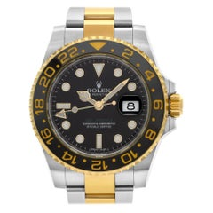 Rolex GMT Master II 116713, Black Dial, Certified and Warranty