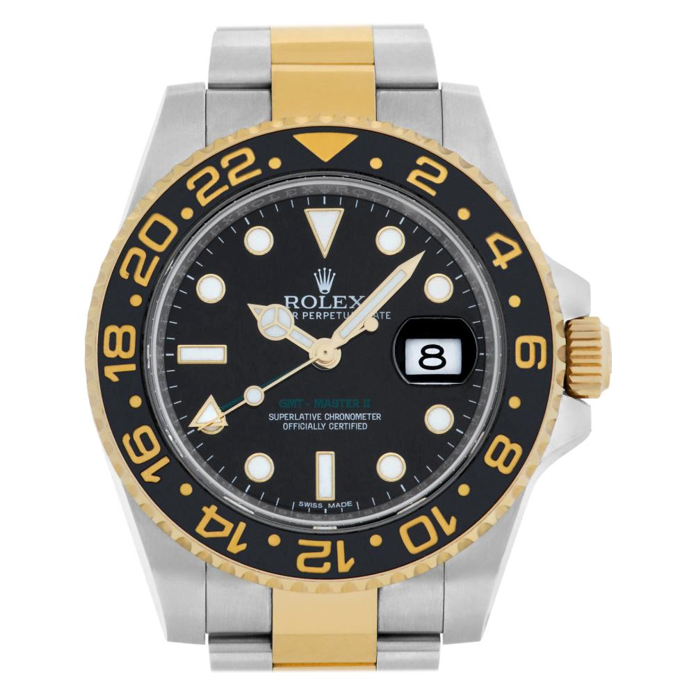 Rolex GMT-Master II 116713 Stainless Steel Black Dial Automatic Watch