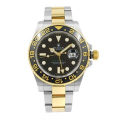 Rolex GMT-Master II 116713 Steel 18 Karat Yellow Gold Automatic Men's Watch