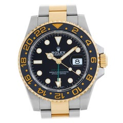 Rolex GMT-Master II 116713LN 18 Karat and Steel Auto Watch