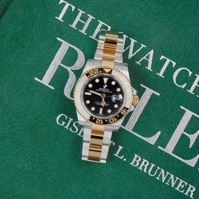 Rolex GMT-Master II 116713LN Men's Stainless Steel and Yellow Gold Watch 5