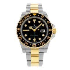 Rolex GMT-Master II 116713LN Steel 18 Karat Yellow Gold Automatic Men's Watch