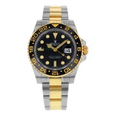 Rolex GMT-Master II 116713LN Steel and 18 Karat Gold Automatic Men's Watch