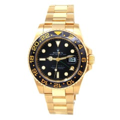 Rolex GMT Master II 116718, Case, Certified and Warranty