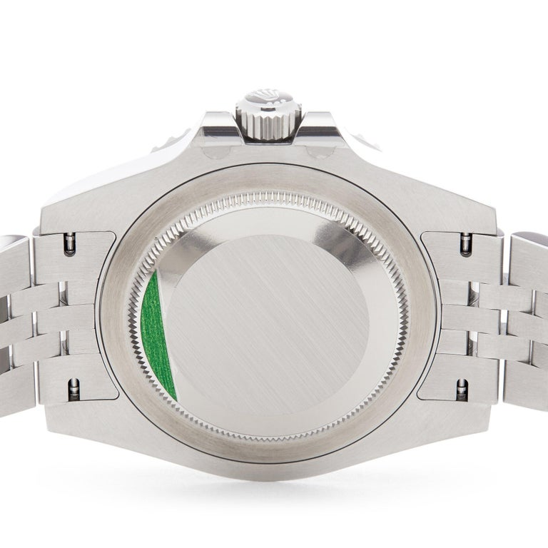 Rolex GMT-Master II 126710BLNR Men's Stainless Steel Batgirl Watch For Sale 3