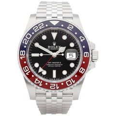 Rolex GMT-Master II 126710BLRO Men's Stainless Steel Pepsi Unworn Watch