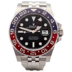 Rolex GMT-Master II 126710BLRO Men's Stainless Steel Watch
