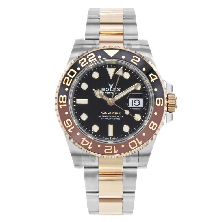 Rolex Gmt Master Ii 126711 Rootbeer Two Tone Rose Gold And Steel
