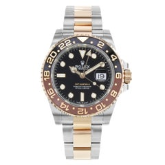 Rolex GMT-Master II 126711 Rootbeer Two-Tone Rose Gold Steel Automatic Watch